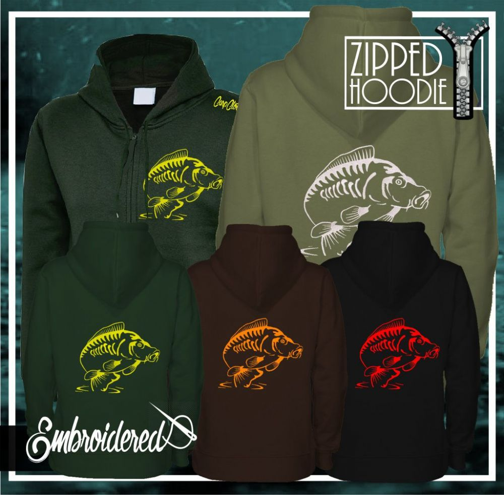 014 EMBROIDERED CARP ZOODIE